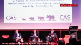 Tourism in Zimbabwe with Alan Gullan & Alexander Mavros at Zimdaba London 2018