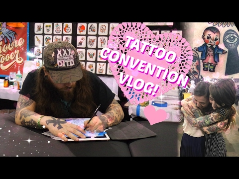 Tattoo Convention Vlog! 2017!
