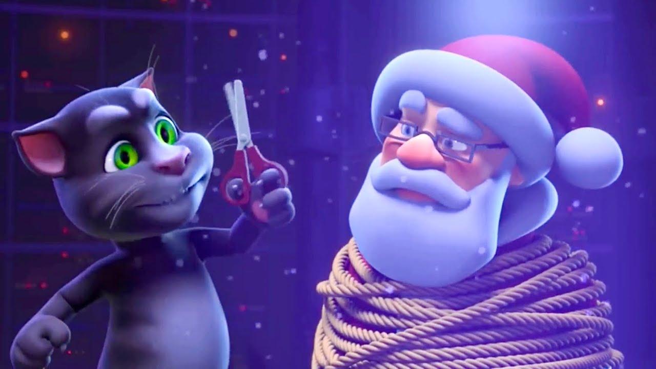 Tom Christmas Compilation with Santa