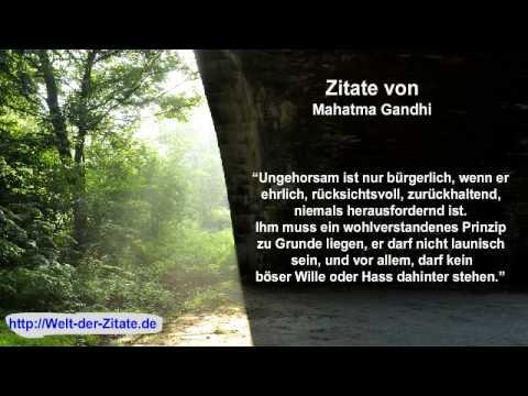Zitate Mahatma Gandhi 1 Youtube