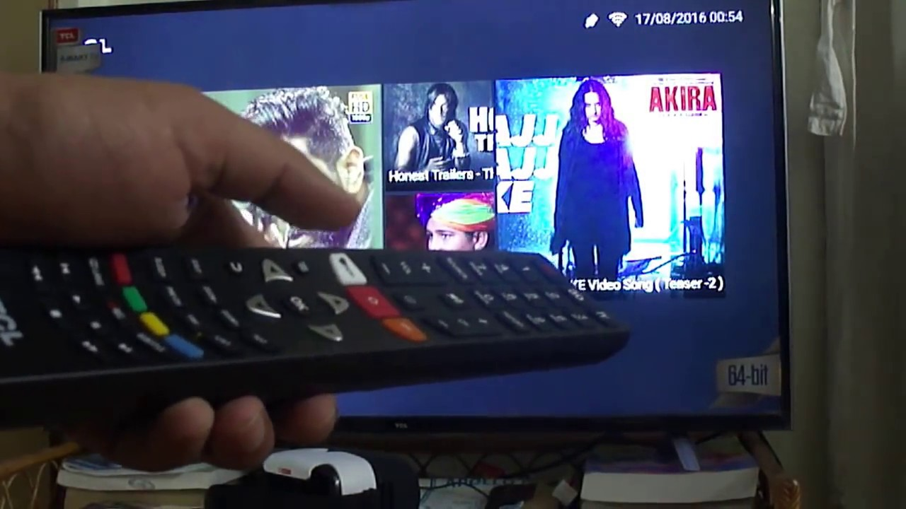 tcl l43p1us cm 43 inches 4k ultra hd smart led tv youtube. Black Bedroom Furniture Sets. Home Design Ideas