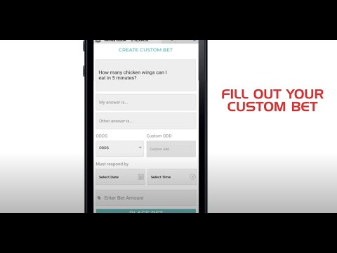 Create a Custom Bet Tutorial