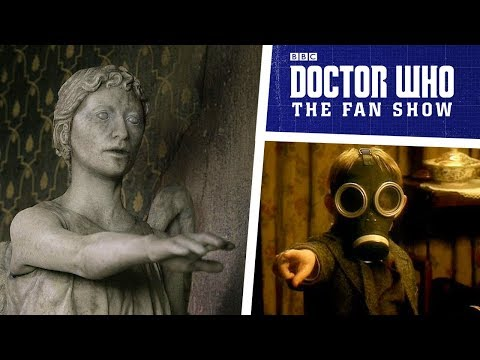 Steven Moffat On Writing For Doctor Who, Weeping Angels & MORE!  Doctor Who: The