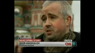 CNN News Igor Khokhlov comments on Russian Presidential Elections 2012