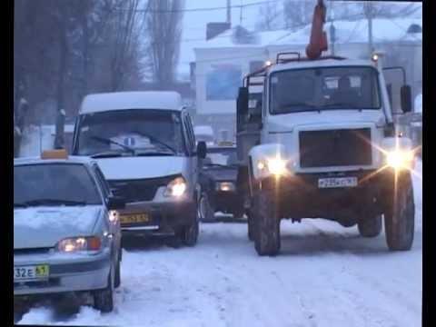 Зима пришла в Сальск