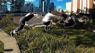 Parkour Twins - Routine Saturday Training