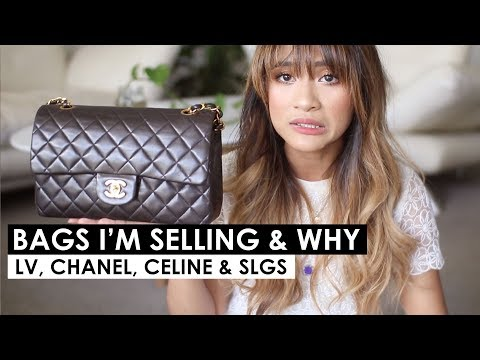 VLOG SALE! ITEMS I'M SELLING & WHY | Louis vuitton, Chanel, Celine Bags & SLG