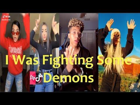 I was fighting some demons lyrics