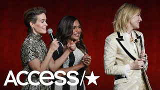 Sarah Paulson & Cate Blanchett Hilariously Go Off The Rails In Wild New Interview! | Access