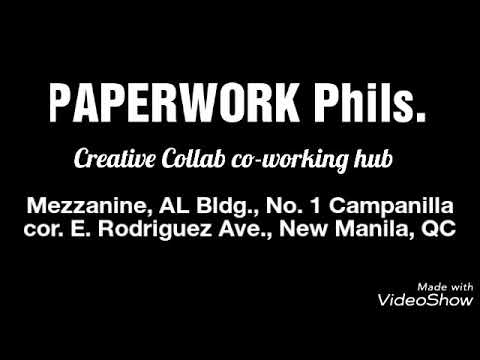 Paperwork Phils. | Creative Collab Co-Working Hub in New Manila