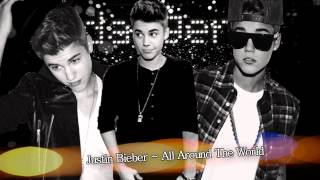 Justin Bieber - All Around The World (Instrumental + background voice)