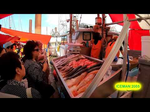 Steveston Fish Market Richmond, BC Canada