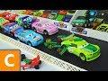 Cars 3 : Brick Yardley & Chase Racelott's Adventure! - StopMotion