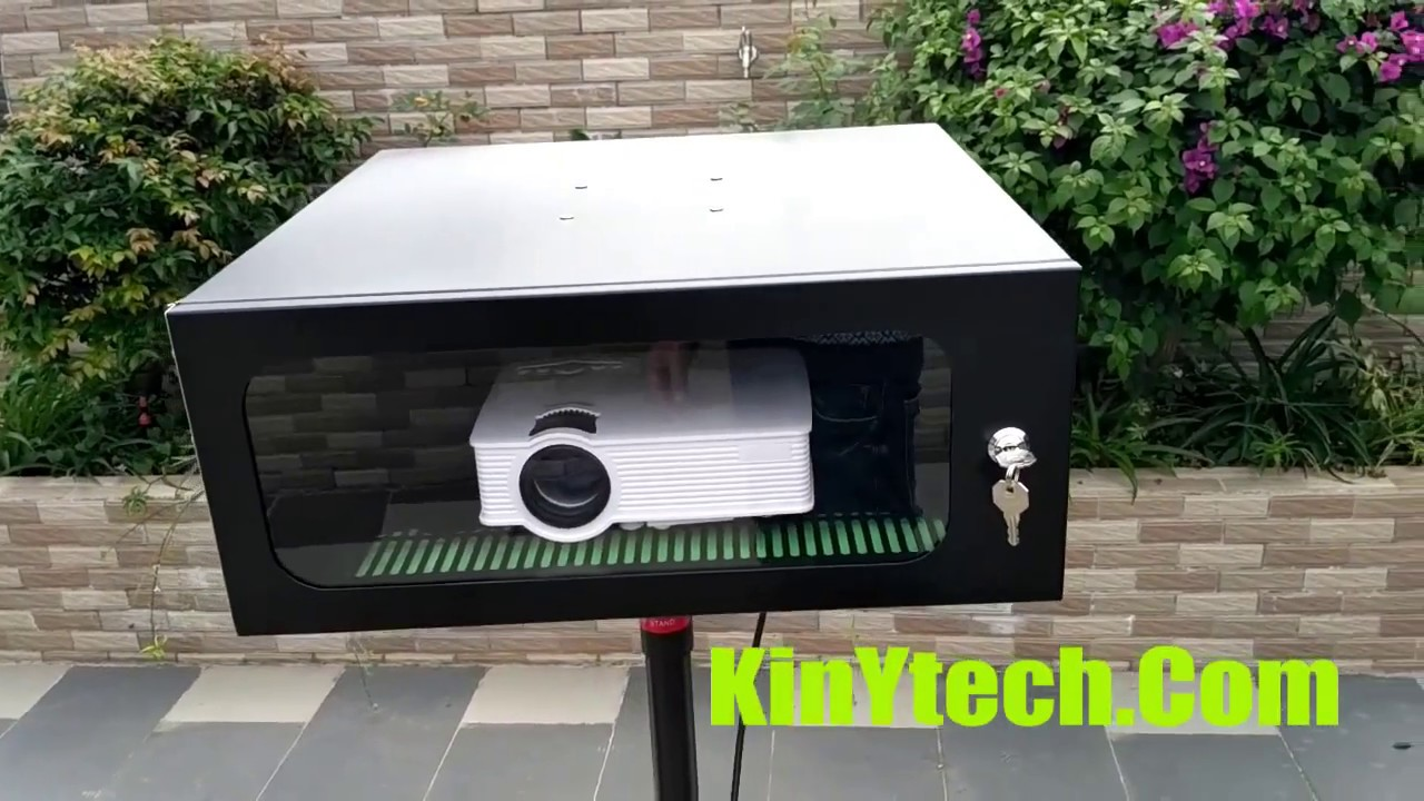 Weatherproof Outdoor Projector Enclosure Diy Waterproof Box Housing Cabinet