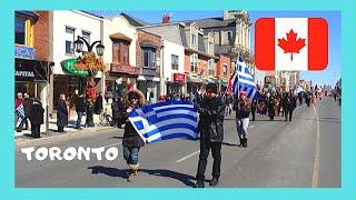 TORONTO: GREEK TOWN, a walking tour (Canada)
