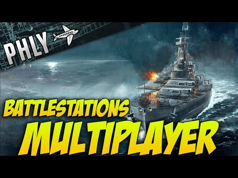 Battlestations Pacific Multiplayer Gameplay- Island Raiding