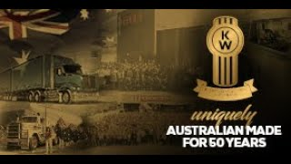 Celebrating 50 Years of Manufacturing Australian Made Kenworth Trucks