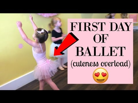 FIRST DAY OF BALLET! SHE LOVED IT!   DAY IN THE LIFE VLOG   Tara Henderson