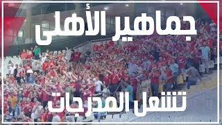 جماهير الأهلى تشعل المدرجات: بالدم بالروح.. الدورى مش هيروح