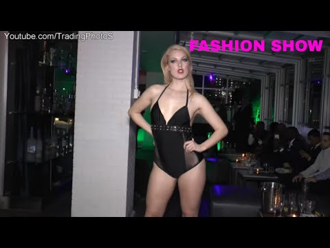 Lingerie fashion Show - by Hillary Flowers Featuring Belle D'Amour in Manhattan New York