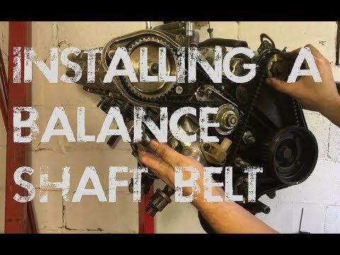 Installing A Porsche 944 Balance-shaft Belt