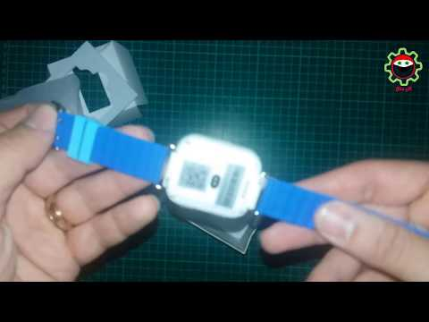 Unboxing/AliExpress - Smart GPS Tracking Watch for Kids Q750