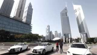 Lexus IS Launch - Emirates Towers
