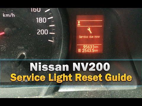 service light reset on a nissan nv200 simple steps youtube. Black Bedroom Furniture Sets. Home Design Ideas