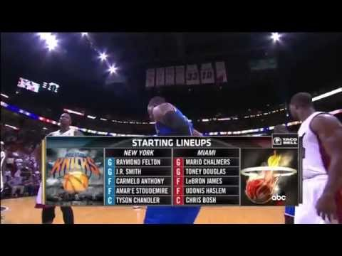 April 06, 2014 - ABC - Game 76 Miami Heat Vs New York Knicks - Win (53-23)(Heat Highlights)