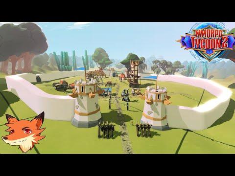 MMORPG Tycoon 2 #1/2 Construire Son Propre MMO! On Crée Les Zones, Les PNJs, Les Quêtes Et Les Boss!