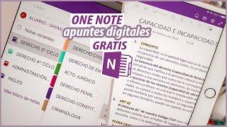 APUNTES DIGITALES EN ONE NOTE | CÓMO USARLA Paso a Paso screenshot 3