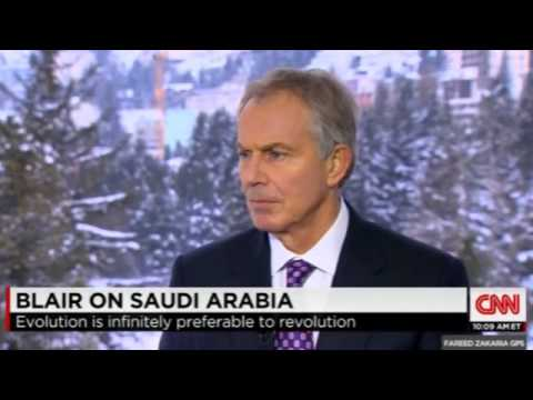 Fmr. UK PM Tony Blair: Saudi Arabia Part of the Solution to the Problem of Radical Islam
