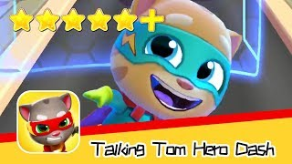 Talking Tom Hero Dash Day25 Walkthrough Agility Master Recommend index five stars+