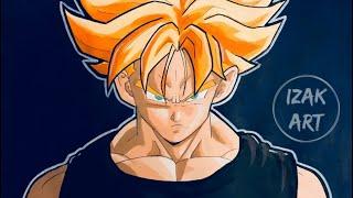 Drawing Trunk Dragon Ball Super | How to draw Manga