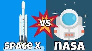 SpaceX vs NASA cuál es mejor?