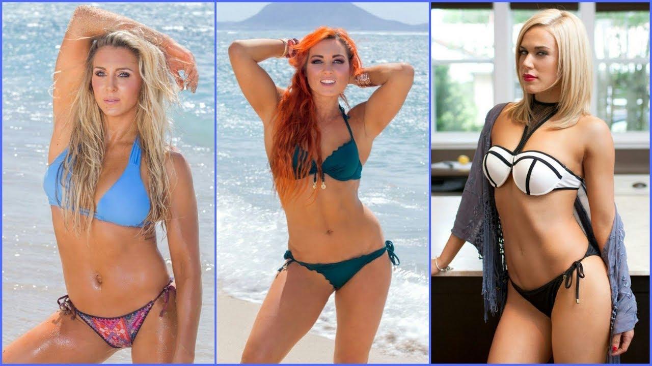 Wwe Divas In Bikini