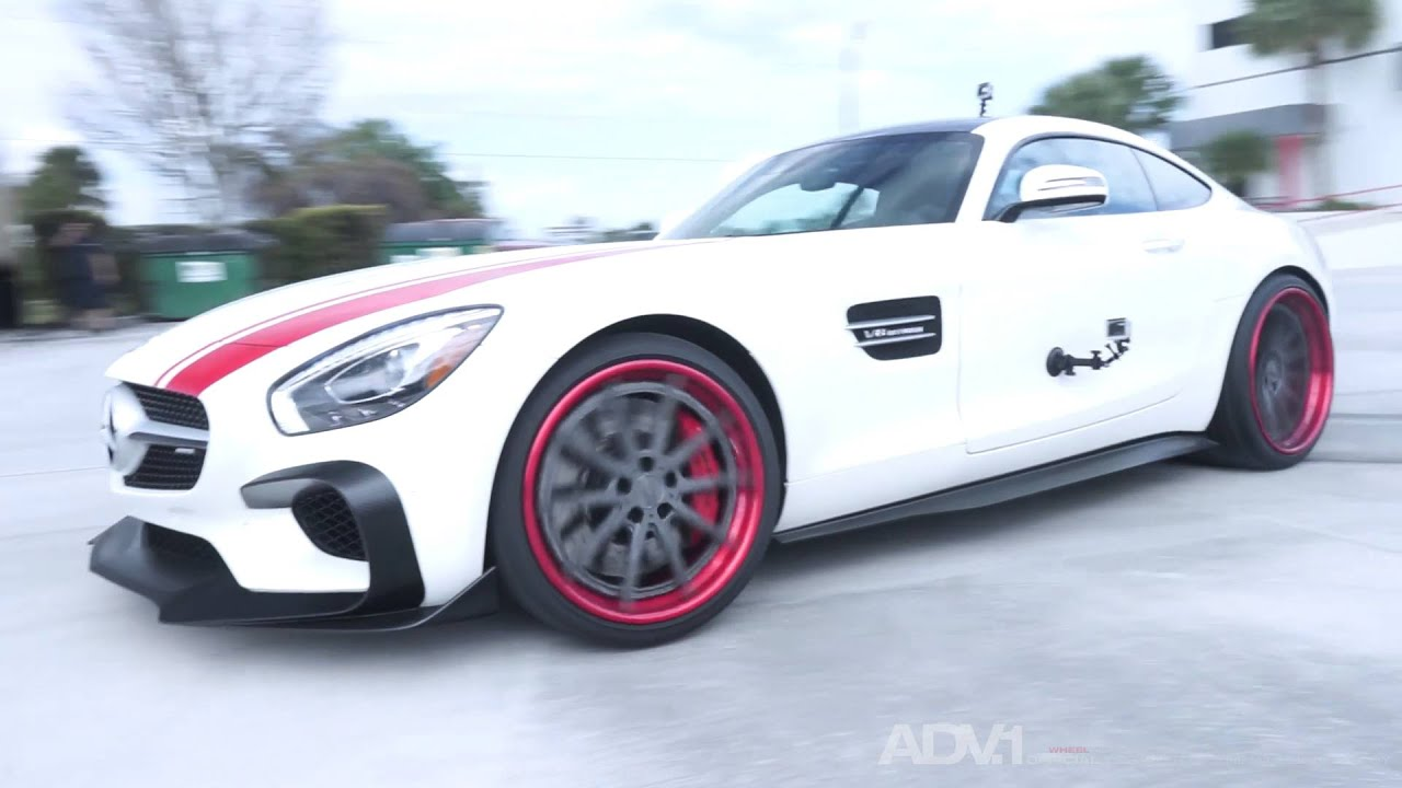 RENNtech Mercedes AMG GT-S | Dyno + Donuts