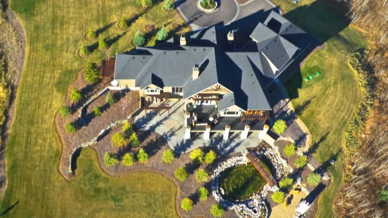 $5.3 Million Bearspaw Estate Calgary   Luxury Real Estate Marketing By Ross  PAVL   YouTube