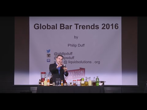 Seminar Philip Duff 2016 presented by Grand Marnier INVASION COCKTAIL
