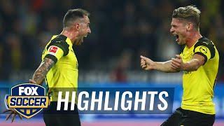 Paco Alcacer's last minute goal versus Eintracht Frankfurt | 2018-19 Bundesliga Highlights
