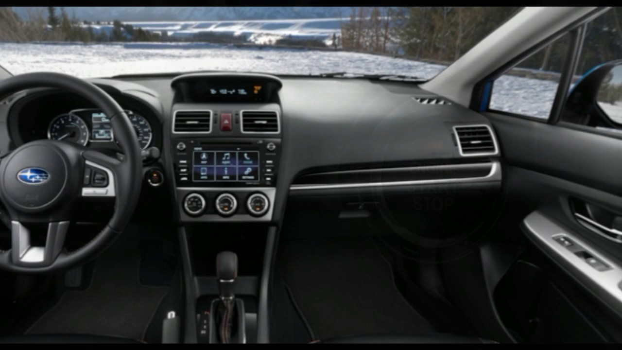 2017 Subaru CrossTrek Interior - YouTube