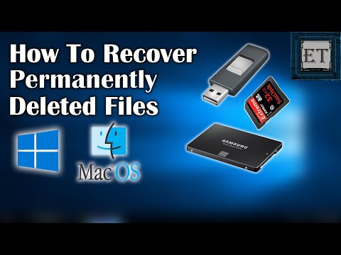 How to recover permanently deleted photos on mac