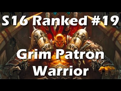 Hearthstone: Zalae's Grim Patron Warrior - Learn From My Mistakes [Season 16 Constructed #19]