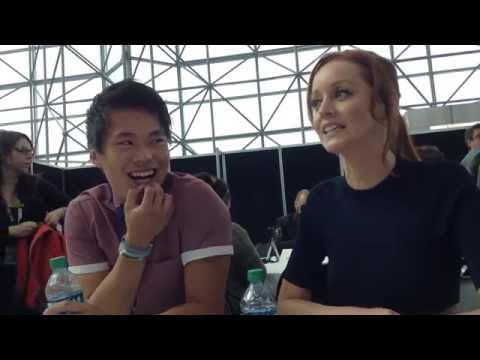 Lindy Booth and John Kim Tease Cassandra and Ezekiel and THE LIBRARIANS Season 2