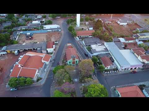 Vista aérea da cidade de Sagres