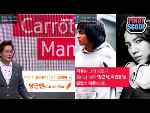 Carrot Man Jeyrick Sigmaton Featured In Korean TV Program Global Information Show