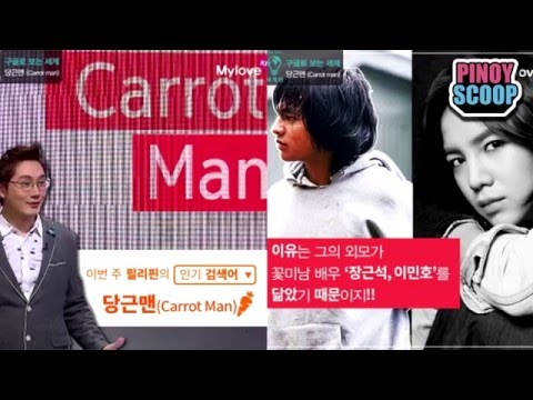 Carrot Man Jeyrick Sigmaton Featured In Korean TV Program Global Information Show