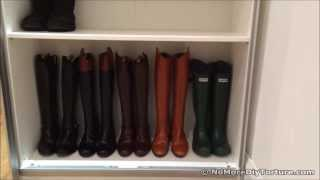 Ikea Sliding Door Wardrobe - Shoe Organizer