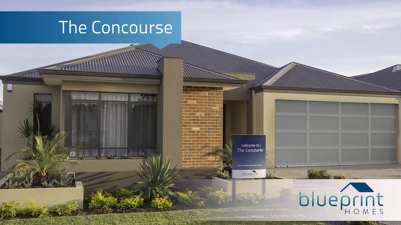 Blueprint homes the concourse display home perth youtube blueprint homes the concourse display home perth malvernweather Images