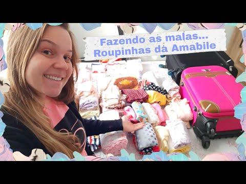 FAZENDO AS MALAS / ROUPINHAS DA AMABILE #1 #maternidade #gravidez #dicasdemãe #fazendoasmalas